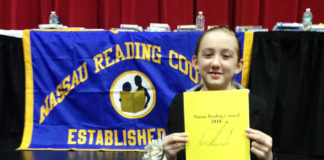 Clara Goldman won this year's Nassau Reading Council Annual Young Authors Contest. (Photo courtesy of the Great Neck Public Schools)