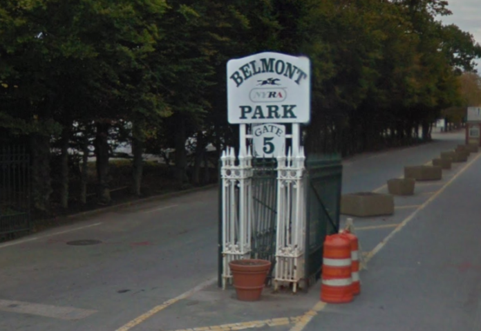 A worker at Belmont Park died earlier this month, likely of bacterial sepsis. (Photo from Google Maps)