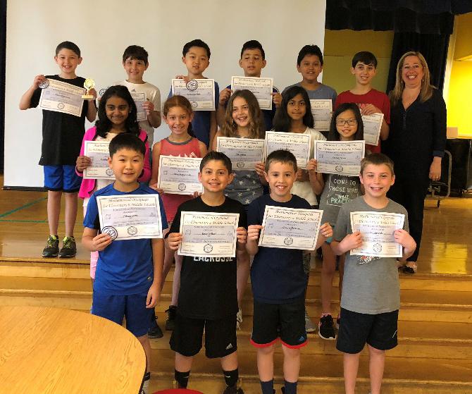 Roslyn elementary students excel in Math Olympiad program