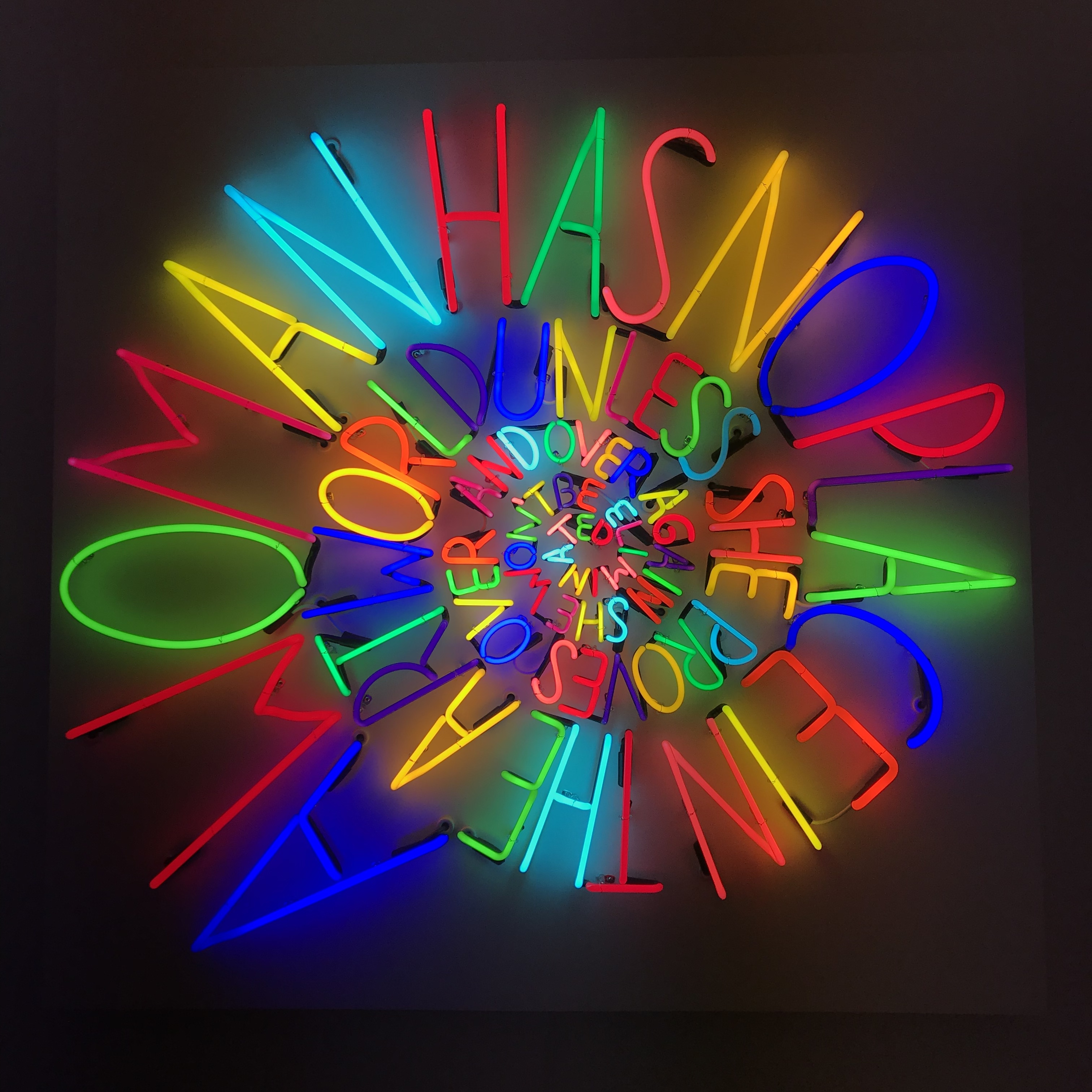 2aa398610b4de Colors of the rainbow come to Nassau County Museum of Art - Roslyn ...