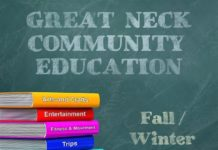 The Great Neck Community Education Fall/Winter catalog is now available. (Photo courtesy of the Great Neck Public Schools)