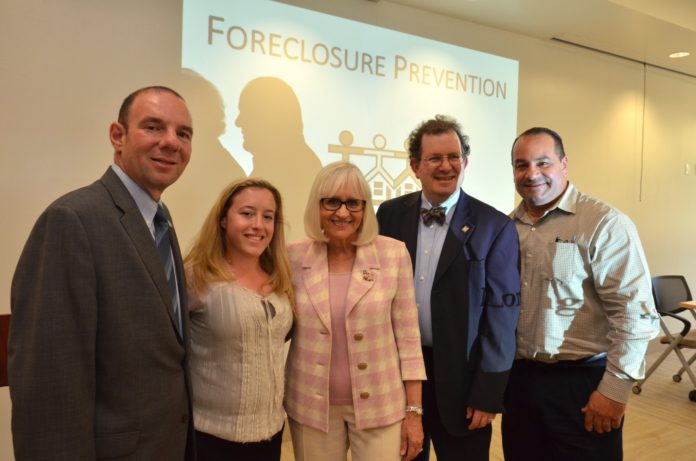 Since receiving a $159,000 grant, the town has hosted a number of seminars to try addressing and preventing foreclosures. (Photo courtesy of the Town of North Hempstead)