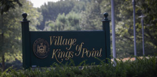 Village of Kings Point trustees have proposed a pair of laws regarding structures and trees. (Photo by Janelle Clausen)