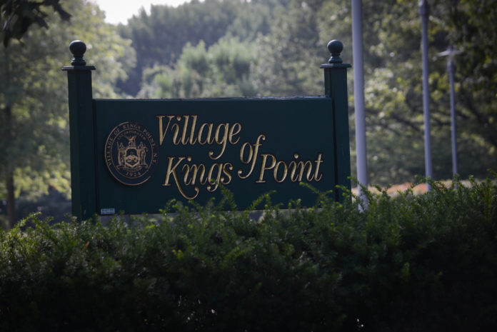 The Village of Kings Point approved a garbage collection contract and a proposal from ExteNet to install cell nodes on Thursday night, but held on awarding a contract to erect a passive park. (Photo by Janelle Clausen)