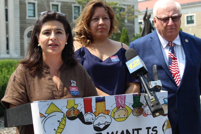 Kaplan, abuse survivors push for Child Victims Act vote