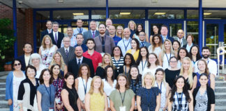 New secondary faculty for the 2018-19 school year. (Photo by Irwin Mendlinger)