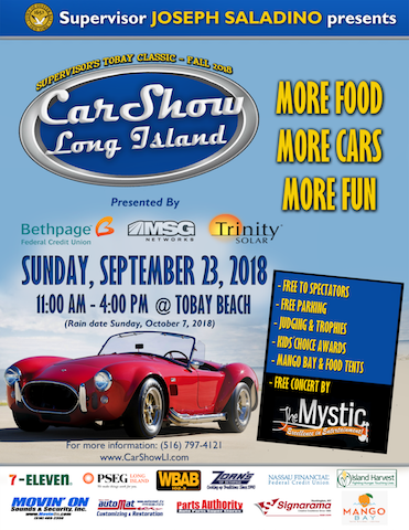 Classic Car Show At Tobay Beach On The Island Now - Car shows near me now