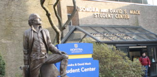 Hofstra University will be home to a series of lectures and forums geared toward prospective student voters and the 2018 elections. (Photo by Amelia Camurati)
