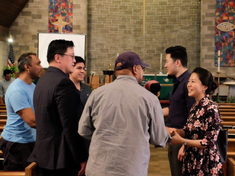 Preaching diversity at the Edge City Church