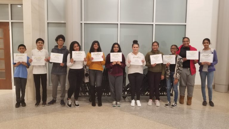 Sewanhaka names October Students of the Month