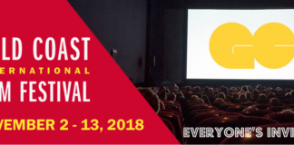 The Gold Coast International Film Festival will be returning to the North Shore starting Nov. 2, but this time with more events featuring film industry insiders. (Photo courtesy of the Gold Coast International Film Festival)