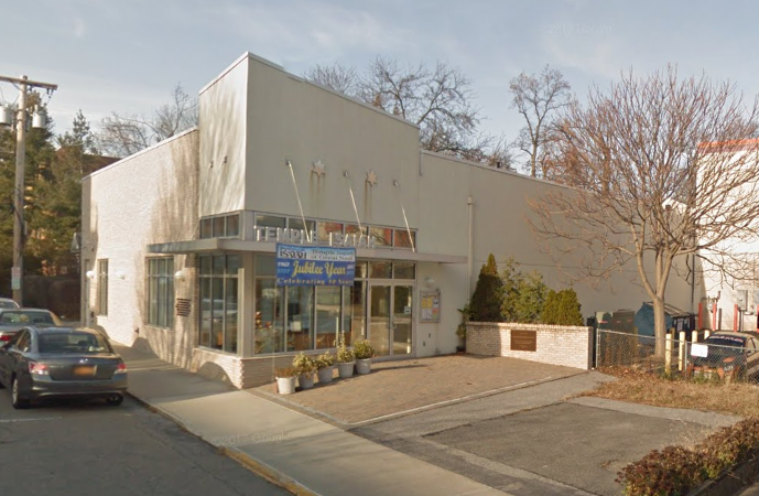 Temple Isaiah of Great Neck, pictured here, will be hosting its Super Tag Sale in early November. (Photo from Google Maps)