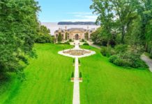 A Kings Point mansion mixing Versailles-style architecture and modern living is on the market for $50 million. (Photo courtesy of Daniel Gale Sotheby's International Realty)