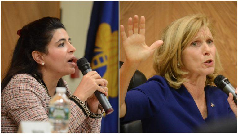 Kaplan, Phillips battle at candidates night