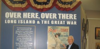 Author and historian Richard Welch will look at Great Neck and Long Island efforts to support World War I on the 100th anniversary of the end of the war. The Great Neck Historical Society program, free and open to the community, will be held on Tuesday, November 13, at 7:30 p.m. at Great Neck House. (Photo courtesy of the Great Neck Historical Society)