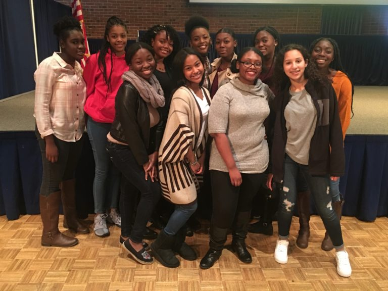 Students attend Adelphi Black Solidarity Conference