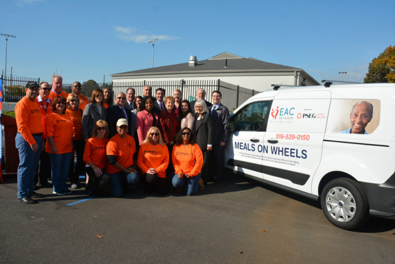 PSEG Long Island donates van to EAC for Meals on Wheels