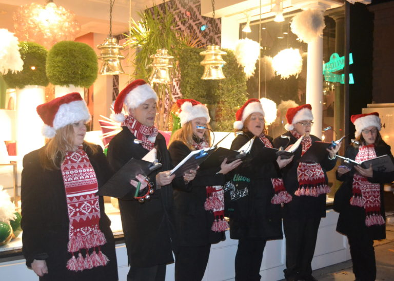 Holiday magic, Small Business Saturday return to Port