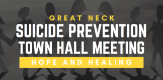 North Shore Action is sponsoring a suicide prevention forum at the Great Neck Library. (Photo courtesy of North Shore Action)