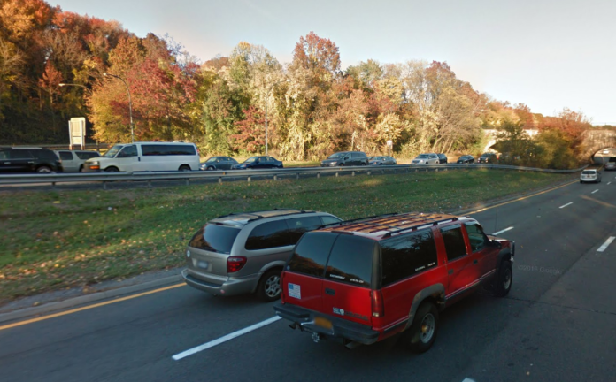 The Northern State Parkway, which is maintained by the state transportation department, could see some resurfacing next year. (Photo from Google Maps)