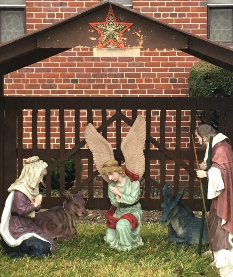Baby Jesus figurine stolen from Trinity Lutheran Church