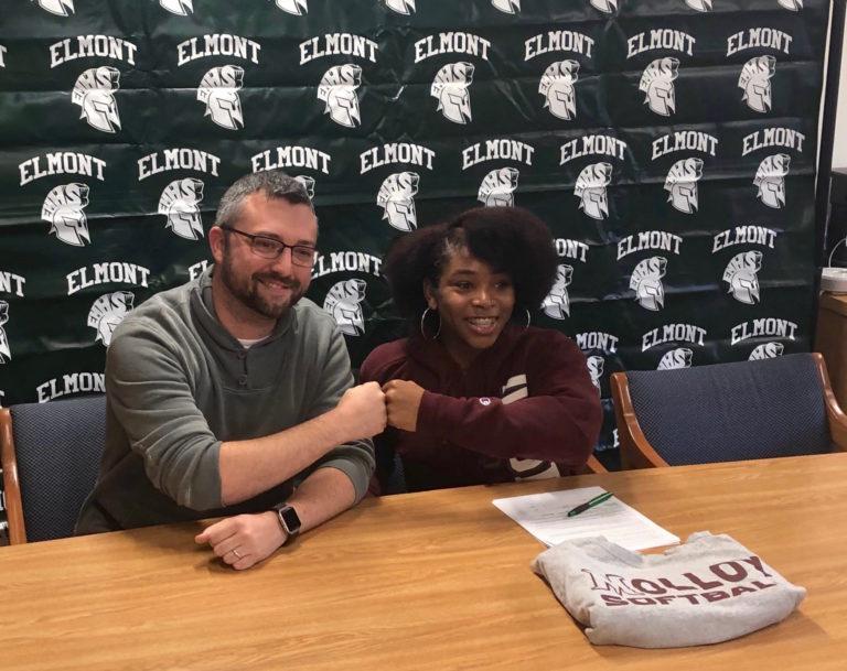 Elmont senior signs National Letter of Intent