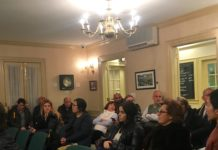 Great Neck Estates residents expressed concern about a wave of crime in the village on Monday night. (Photo by John Nugent)