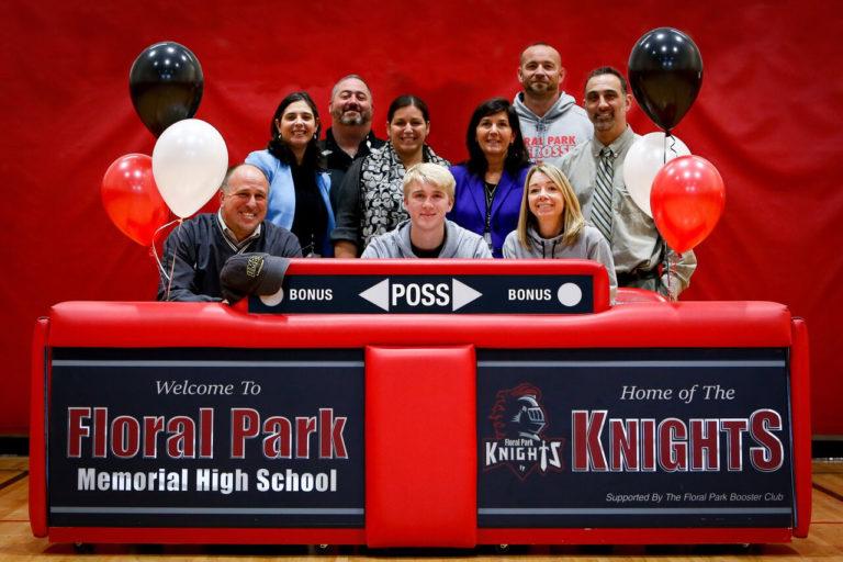 Floral Park senior signs for college