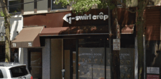 T-Swirl Crêpe, as seen here in 2017, is officially open for business. (Photo from Google Maps)