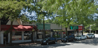 Someone attempted to burglarize a row of stores in Great Neck Estates on Saturday. (Photo from Google Maps)