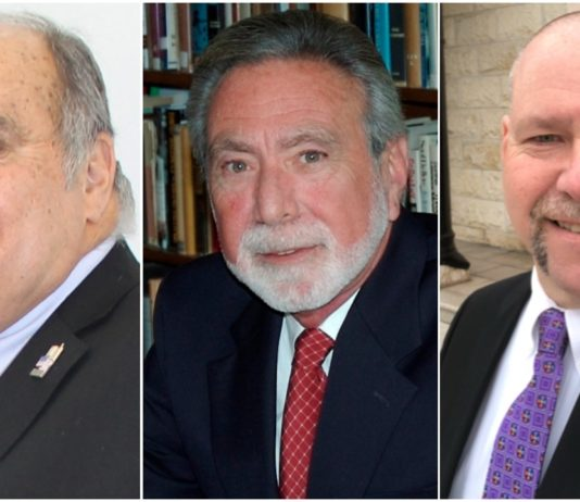 Robert Lincoln, Steve Reiter and Brian Morris won each of their respective races on Tuesday. (Photos courtesy of the candidates)