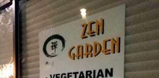 Zen Garden, a vegetarian and vegan eatery, will be succeeding Royal Tea House at 1 Great Neck Road. The owner said she hopes to open in early January. (Photo by Janelle Clausen)