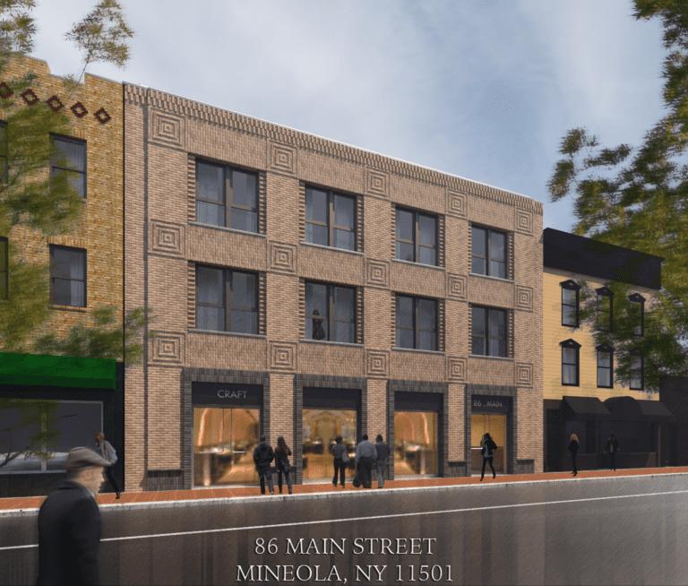 Mineola board OK's four-story, mixed-use Main Street building