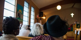 People from a variety of different faiths and backgrounds filled St. Paul A.M.E. Zion Church of Great Neck on Sunday, commemorating the legacy of Dr. Martin Luther King Jr. (Photo by Demi Guo)