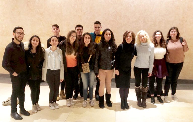 North High choir attends a South High alumni production