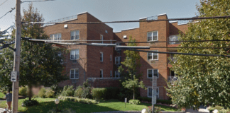 20 Chapel Place was evacuated on Wednesday night for a fire that broke out on the third floor. (Photo from Google Maps)