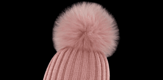 North Middle School administrators requested that parents try to prevent their children from wearing Moncler winter pom pom hats, following many ending up lost and creating distractions. (Photo courtesy of Moncler)