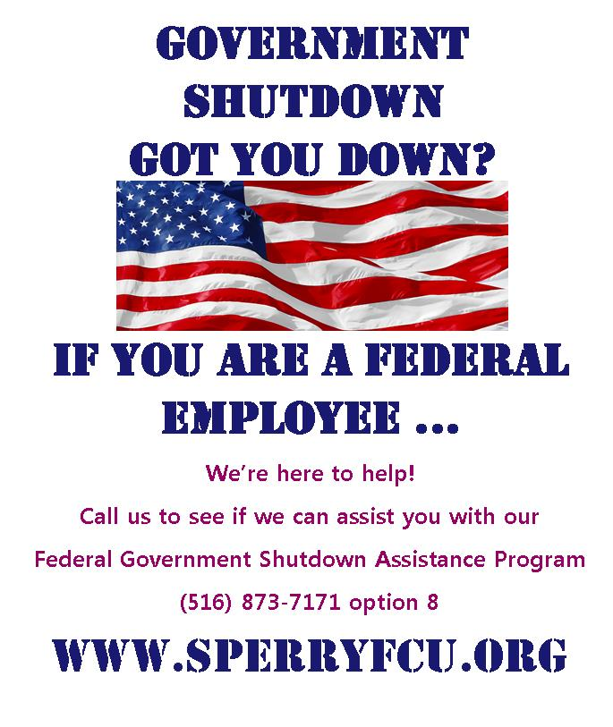 Sperry Associates Federal Credit Union offers federal government