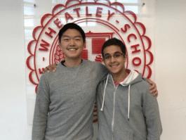Brandon Zhu and Manan Shukla. (Photo courtesy of the East Williston Union Free School District)