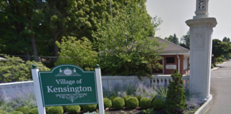 The Village of Kensington approved a $3.89 million budget last week. (Photo from Google Maps)