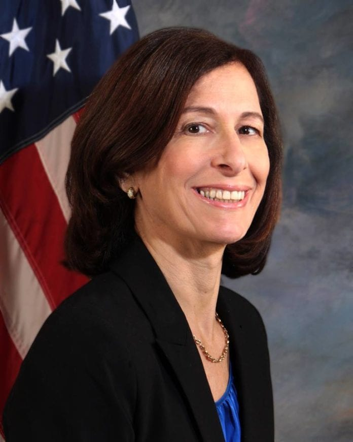 Nassau County Legislator Ellen Birnbaum (D - Great Neck), the representative of District 10.