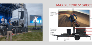The Great Neck Park District approved the purchase of an LED screen and trailer on Thursday night, which they say could serve many purposes. (Photo from Insane Impact website)