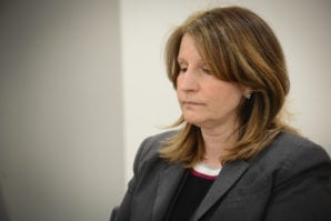 Great Neck Library Director Denise Corcoran has resigned. (Photo by Janelle Clausen)