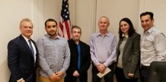 The Great Neck Park District Board of Commissioners voted to approve hiring Edgar Jiron, Zygmunt Mazurkiewicz and Bradley Meir for park laborer positions. (Photo by Janelle Clausen)