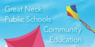 Great Neck Community Education catalog for summer and spring 2019. (Photo courtesy of the Great Neck Public Schools)