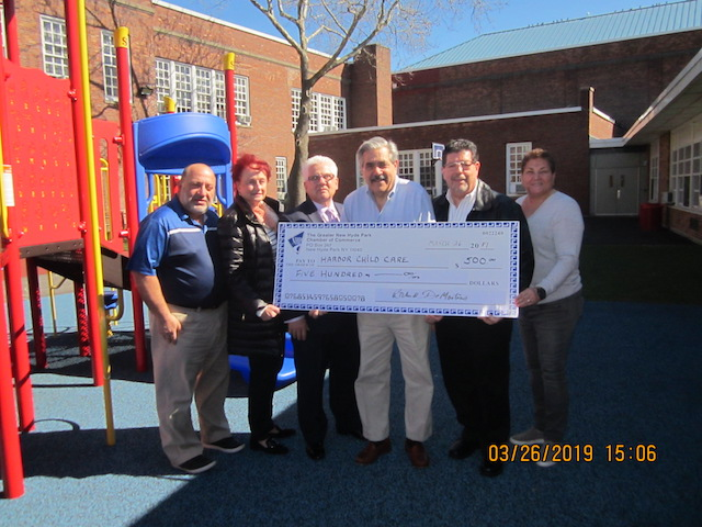 NHP Chamber donates to Harbor Child Care