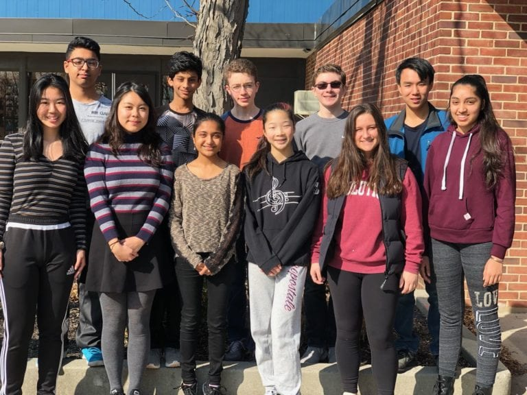 Herricks HS recognizes February Students of the Month