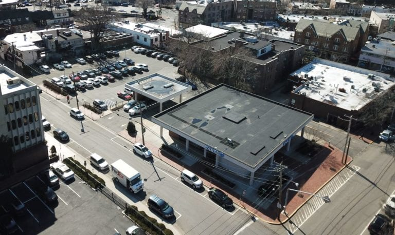 Chase branch selling 'air rights' for development of apartments in Plaza