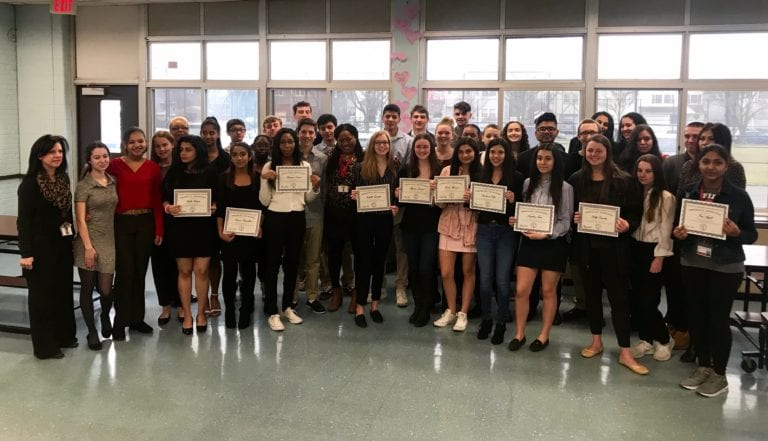 Floral Park hosts Business Honor Society induction