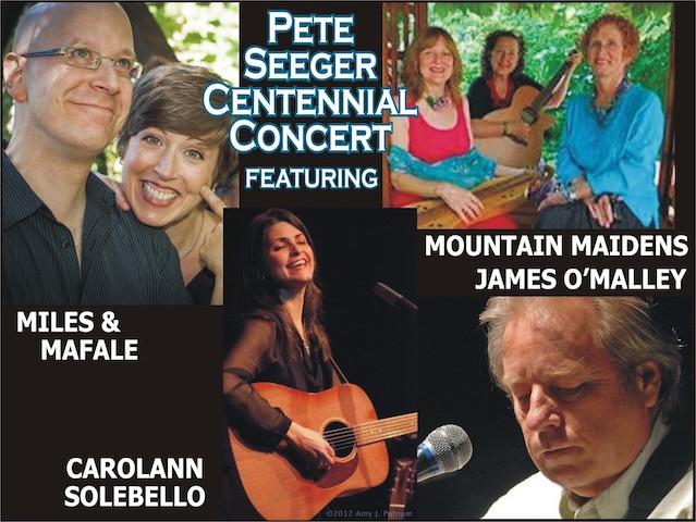 A concert celebrating Pete Seeger centennial